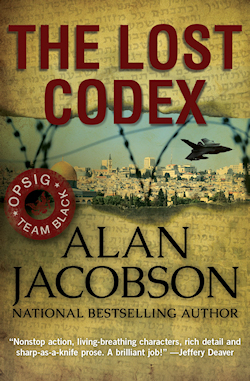 The Lost Codex | A novel by Alan Jacobson