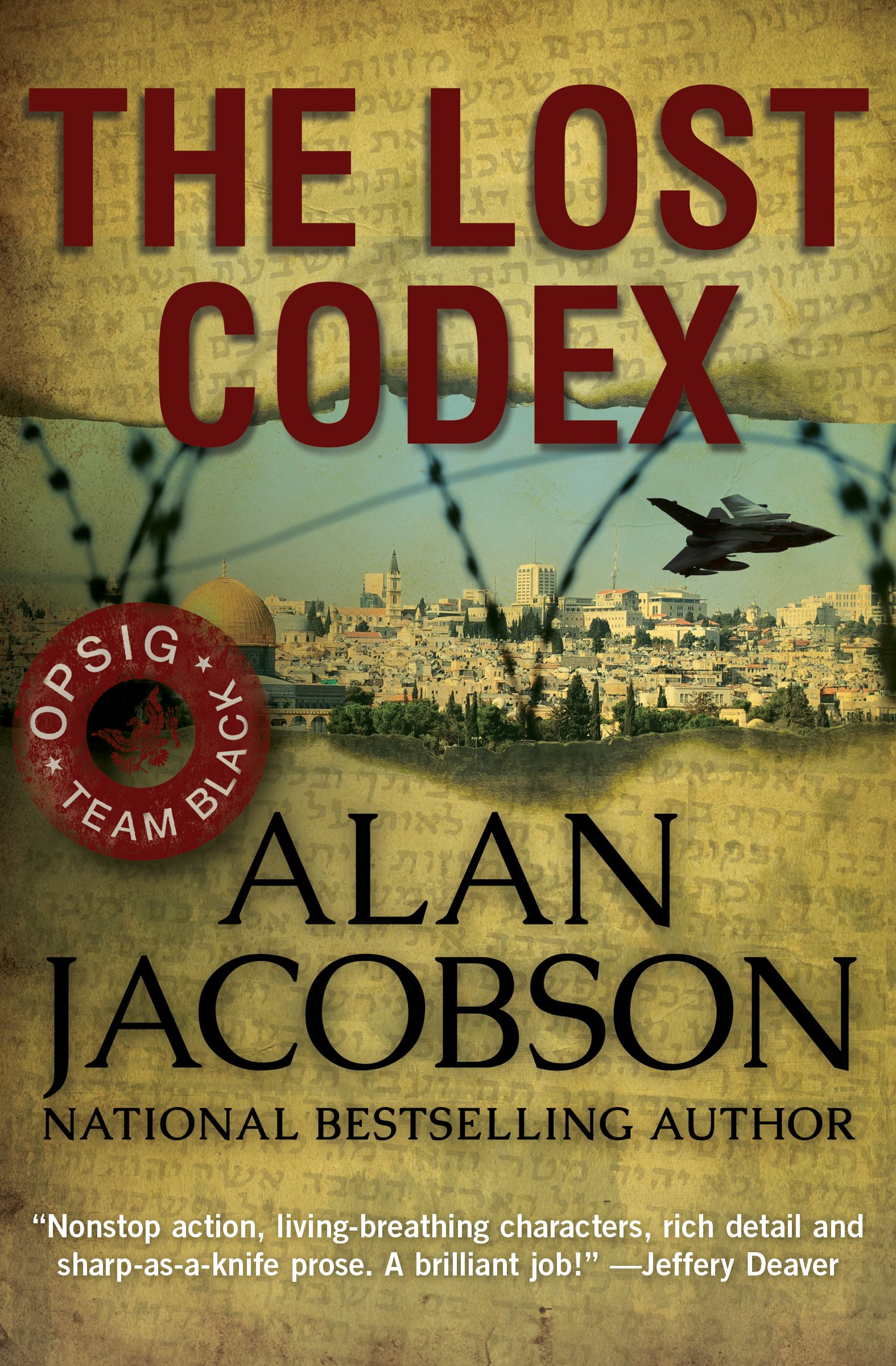 The Lost Codex (OPSIG Team Black #3)