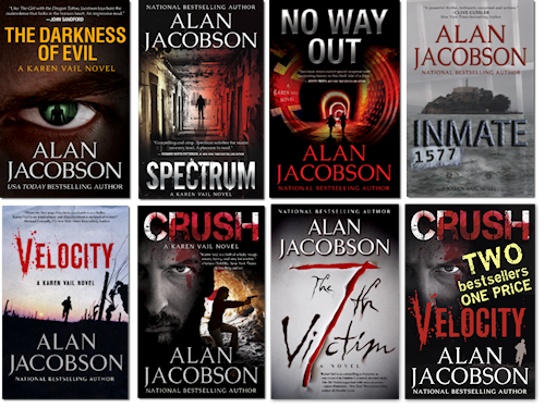 Karen Vail Novel Series | Karen Vail is no ordinary FBI agent. | Novels by Alan Jacobson