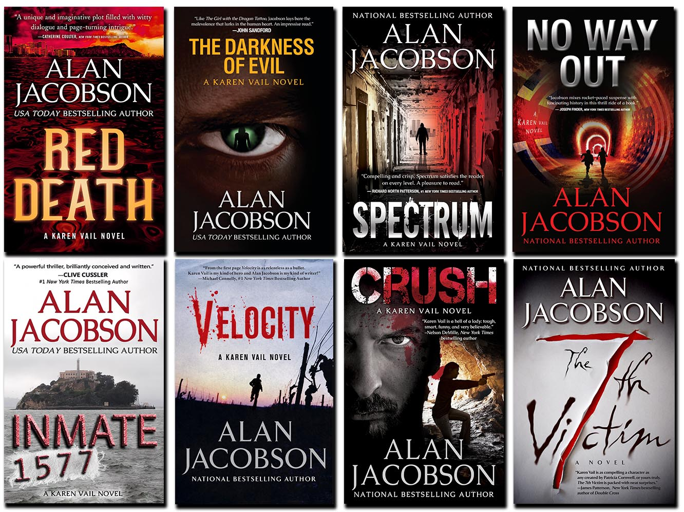 The Karen Vail series | Alan Jacobson